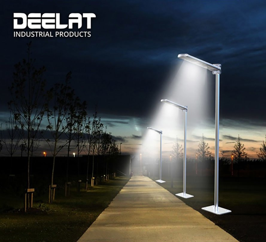 Solar Powered Exterior House Lights