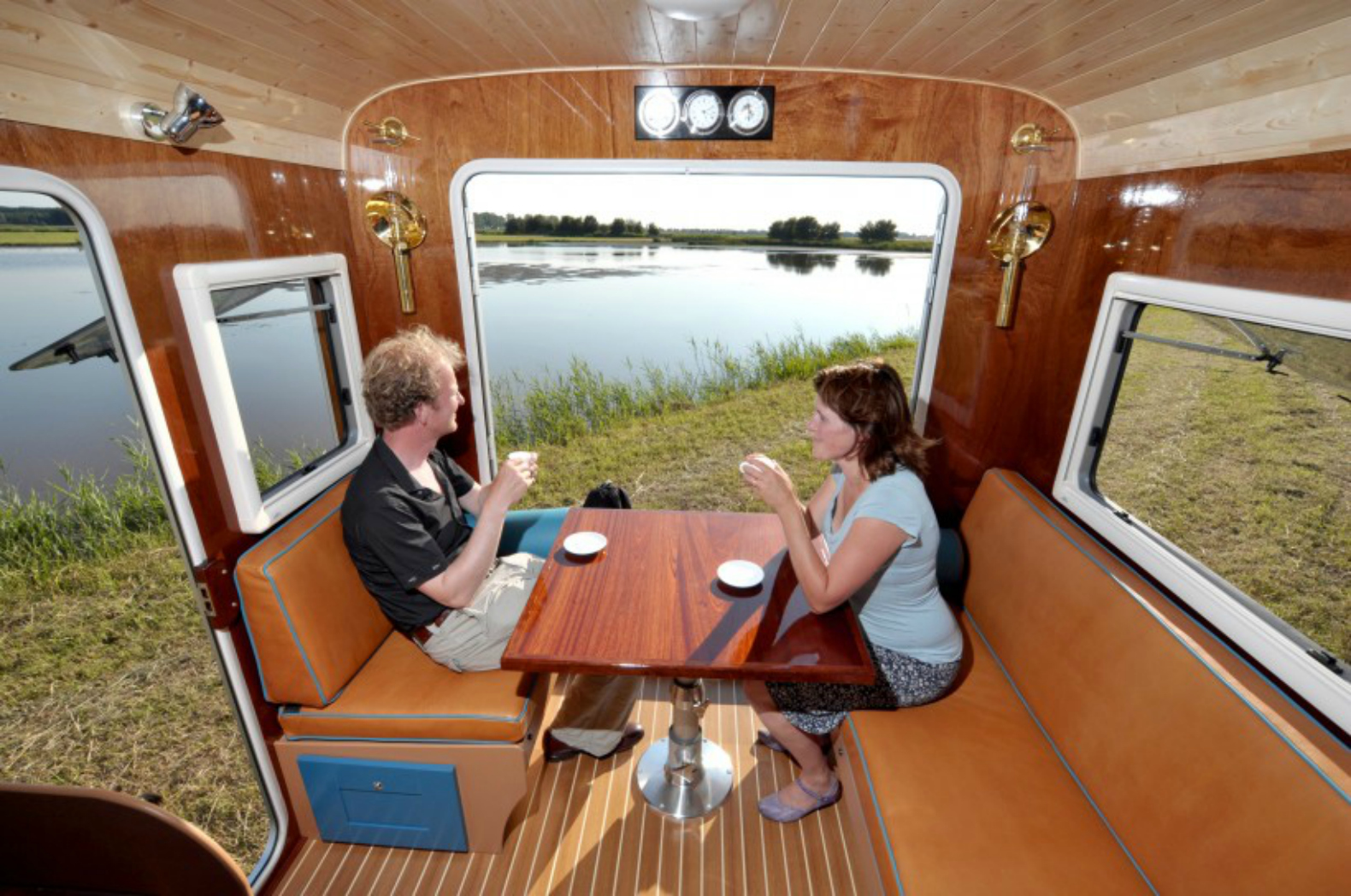 Solar Powered Tonke Camper Brings A Hint Of Nostalgia To