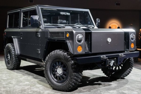 The world's first all-electric sport utility truck is ...