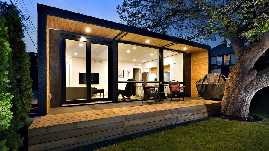 Shipping Container Homes   Inhabitat   Green Design  Innovation     HonoMobo s container homes can be shipped anywhere in North America