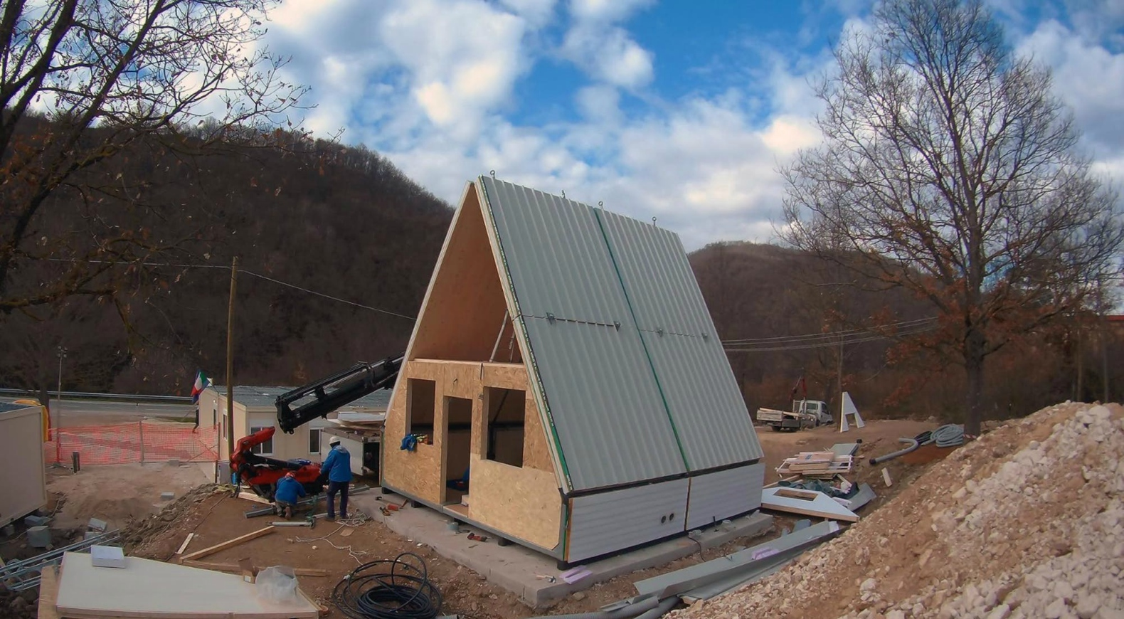 The Brilliant Folding MADi Home Can Be Assembled In Hours
