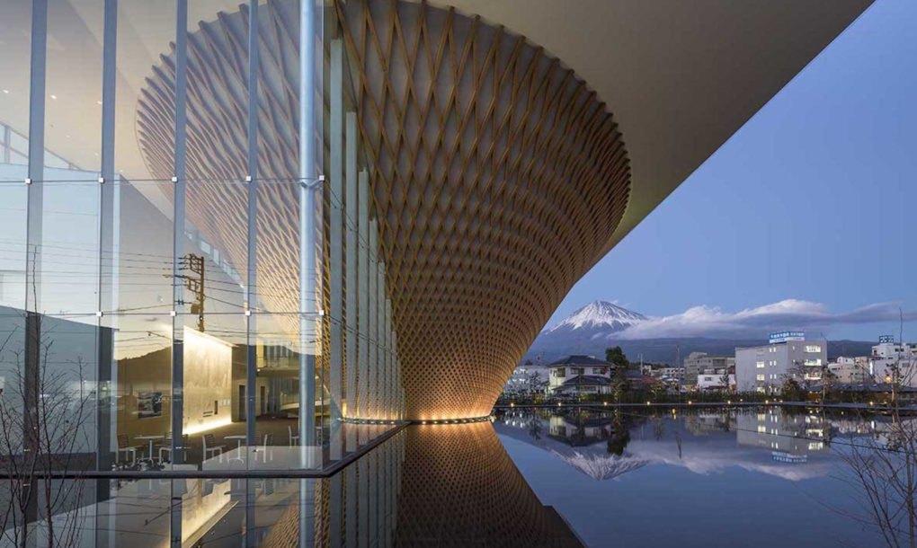 Shigeru Bans Mt Fuji World Heritage Center Opens In