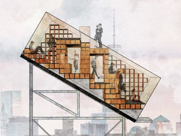 Ryterna modul, Architectural Challenge 2018, Architectural Challenge 2018 Tiny House, tiny house, tiny home, ATN, Clarence Zichen Qian, ATN by Clarence Zichen Qian