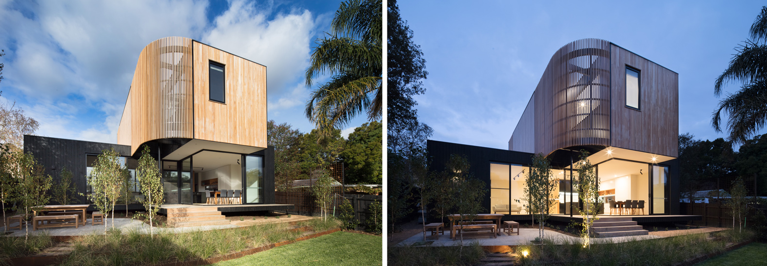 A modular extension boasts a seamless indoor-outdoor ... on Seamless Indoor Outdoor Living id=79603
