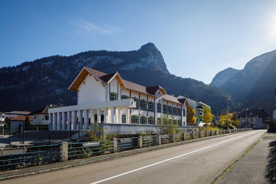 The Alpex Cultural Centre converts a factory into a community center
