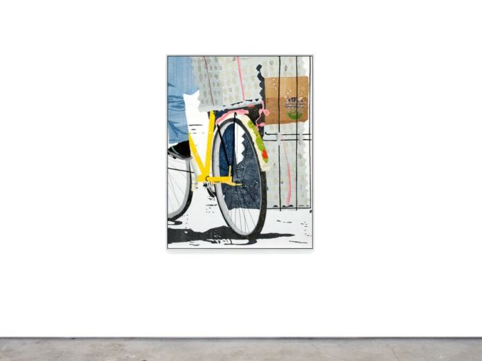 Art depicting a bicycle