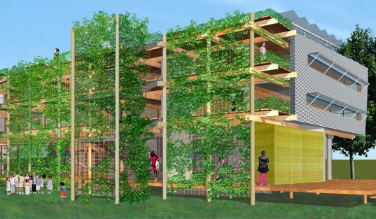 Runner-up design: NOLA shotgunLOFT, Schwartz Architecture/Frederic Schwartz – NYC, NY