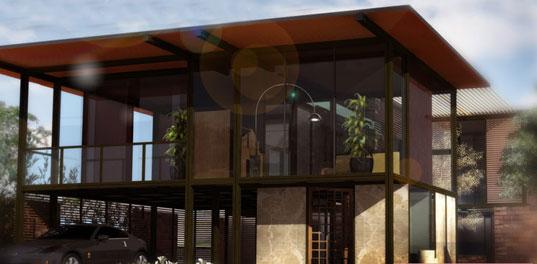 Jeriko House 1, prefab, prefab architecture