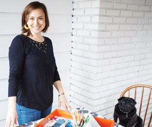 Sarah Gee owner of Sarah Gee Interiors and Inhabit Your Home's Resident Interior Stylist