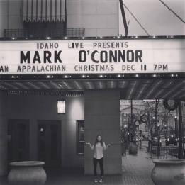 Mark O'Connor concert ©Kelley Branstetter