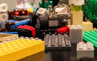 LEGO create ~ photo by Edward Main