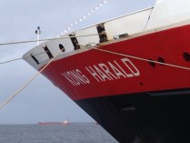 Our ship the MS Kong Harald