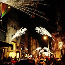 Bond St lights last year