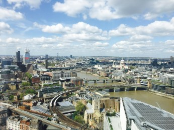 London in all its sunny glory