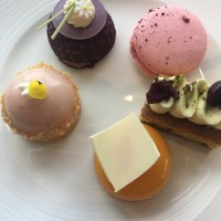 Cakes in the sky at Ting, Shangri-La Shard