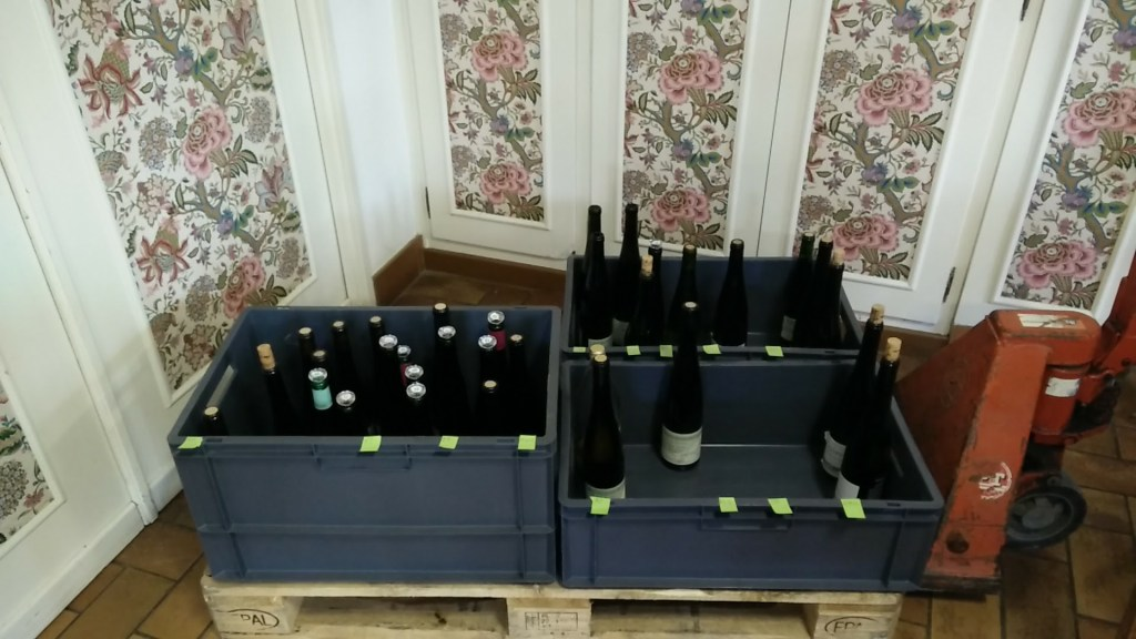 Wijnproeverij Sylvie Spielmann