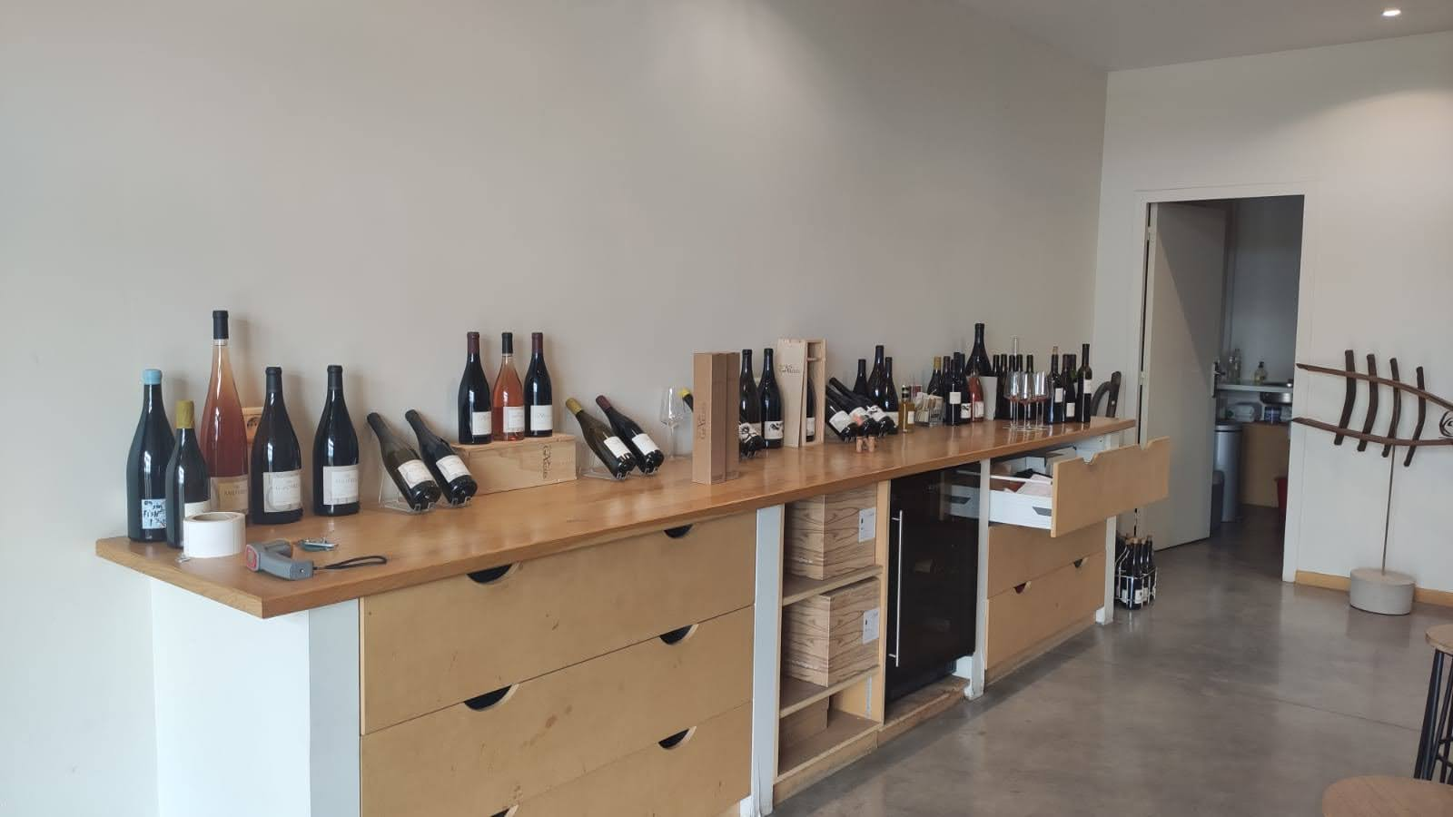 Assortiment wijnen Domaine Gardiés - wijnhuis Roussillon