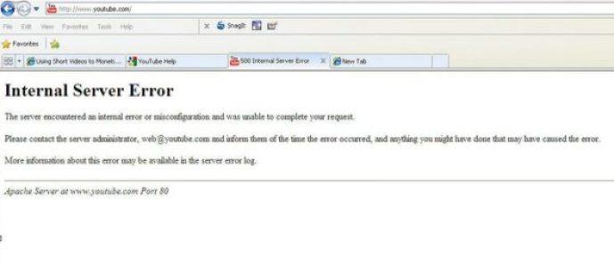 500 Internal Server Error fix कैसे करें