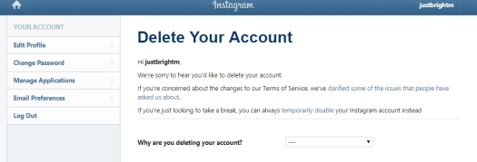 How to delete Instagram account Step by Step Guide हिंदी में