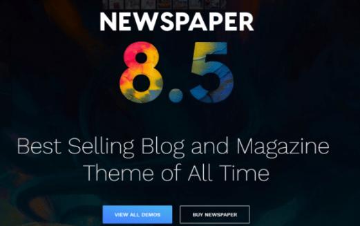 best newspaper wordpress theme