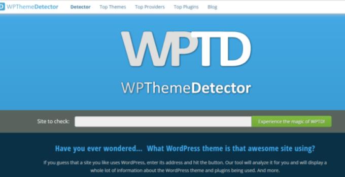 Best WordPress theme detector tools