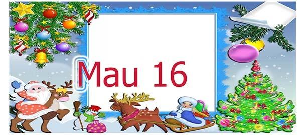 In ly noel - quà tặng giáng sinh 2013
