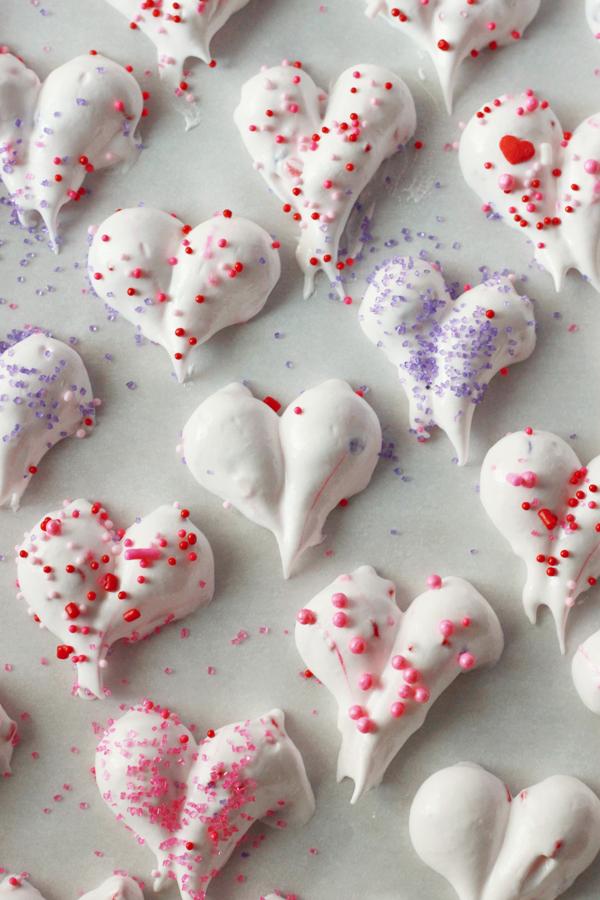 Make Valentine Heart Meringues In Honor Of Design