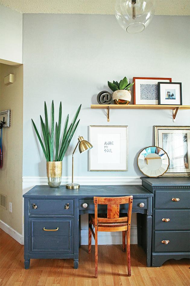White Dresser Wood Drawers
