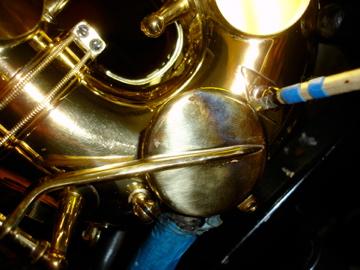 Saxophone Pad Work Meets Flute Pad Work - Feeler Gauge