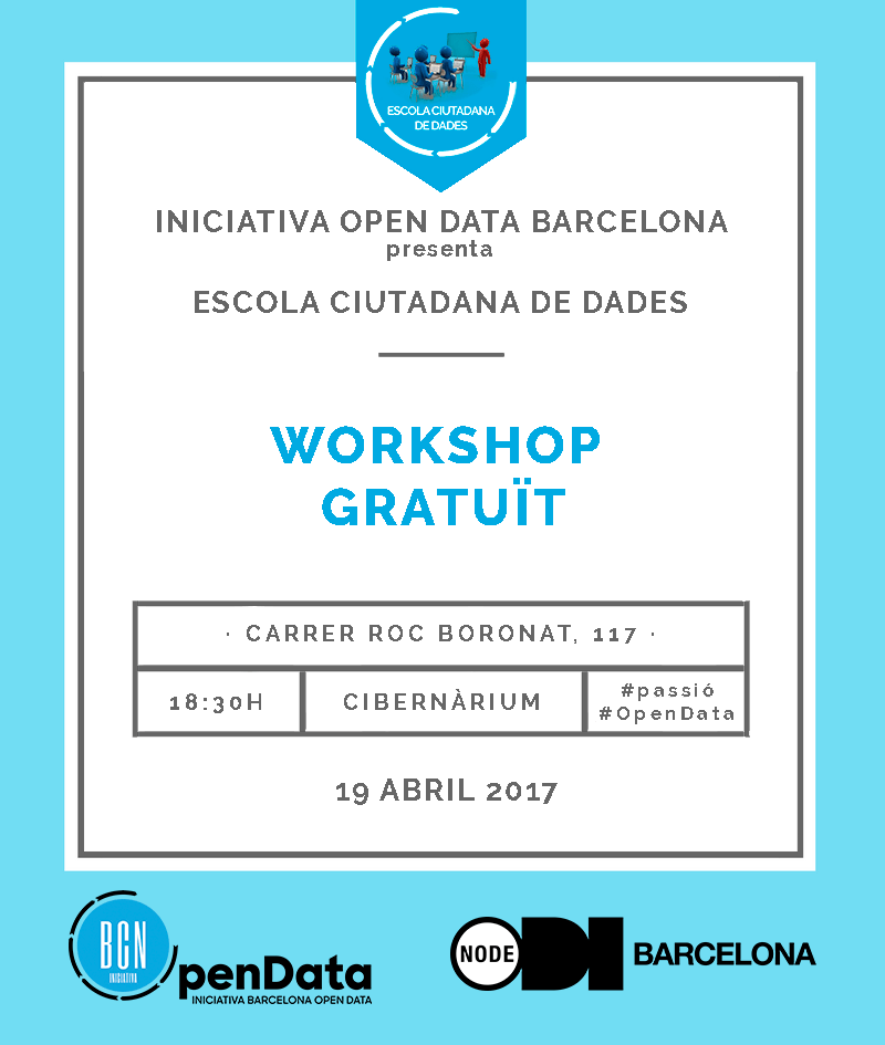 19/04 Workshop gratuït Image