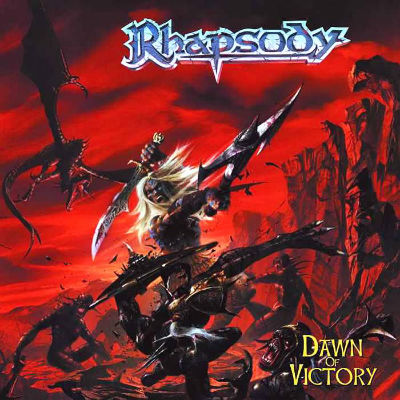 Dwan of Victory - Cover - Iniciativa Nerd: O heavy metal e o RPG