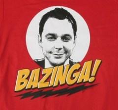 Sheldon Cooper: Bazinga