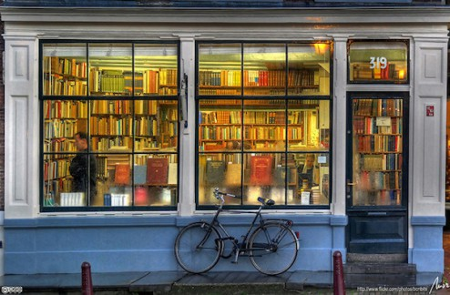Librería en Amsterdam, por MorBCN