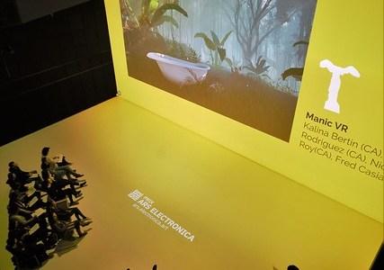 Presentación de Manic VR en Prix Ars Electronica