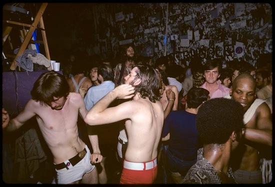 Foto de 1971 de Diana Davies, Manifestación por los derechos de los gays
