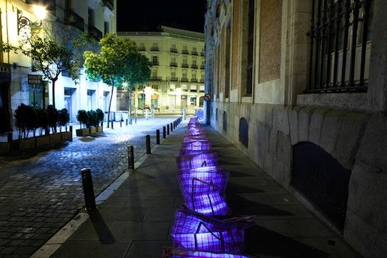 De vuelta a los barrios de Luz Interruptus