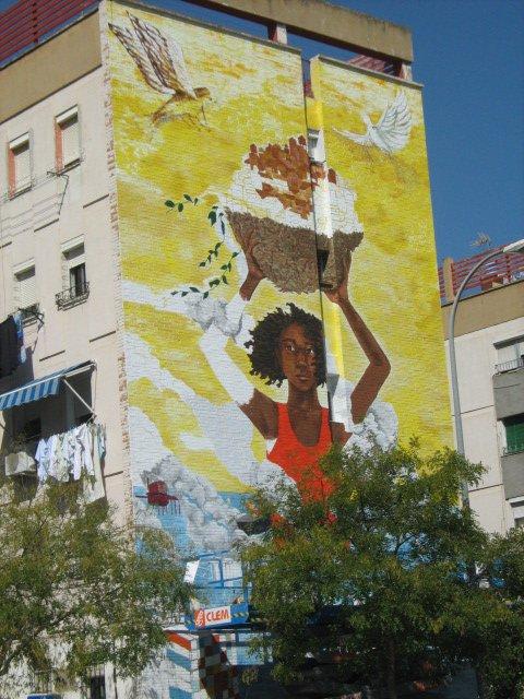 Obra de Katie Yamasaki en el Arte para todos de Sevilla