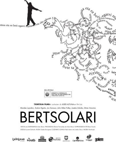 Cartel de Bertsolari, de Asier Altuna