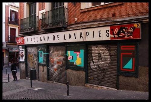 Eltono y Nuria en Madrid, foto de Escritoenlapared