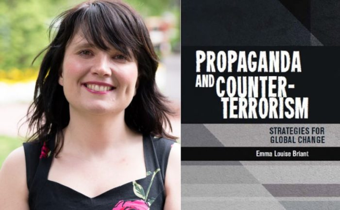 Emma Briant y su libro Propaganda and Counter-terrorism: Strategies for Global Change