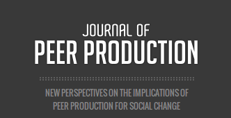 journal o Peer Production