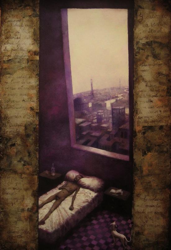 Obra de Nicoletta Tomas, parte del Movimiento La escalera