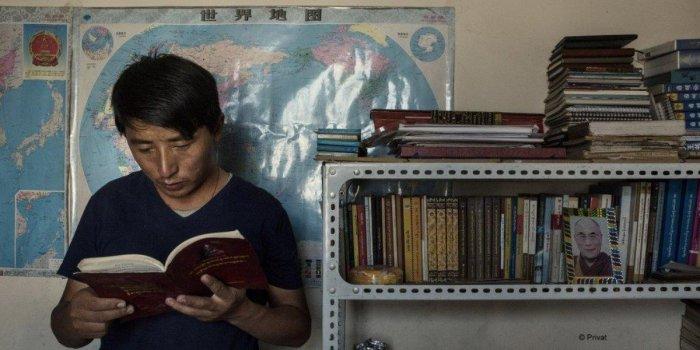 El activista tibetano Tashi Wangchuk
