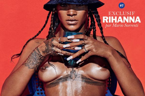 La foto censurada de Rihanna en Instagram