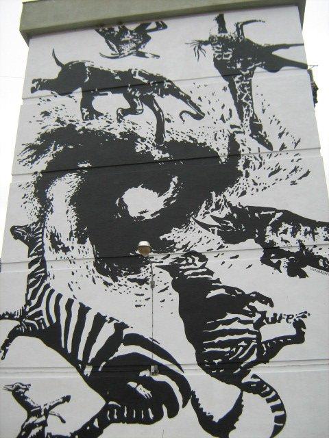 Obra de Victor Ash en el Arte para todos de Sevilla