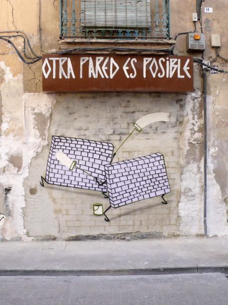 Obra Otra pared es posible de Escif