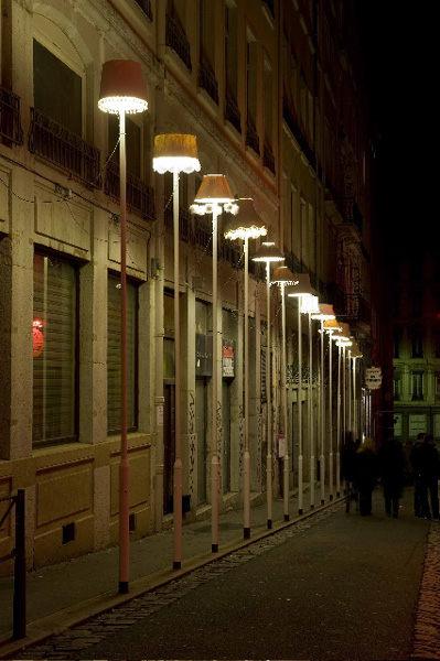 Obra del festival Fête des Lumières de Lyon