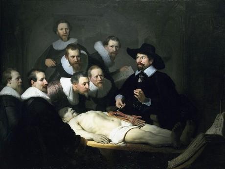 Anatomía a lo Rembrandt