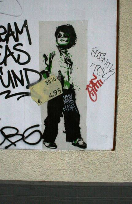 Foto de Graffitis en venta en Berlín