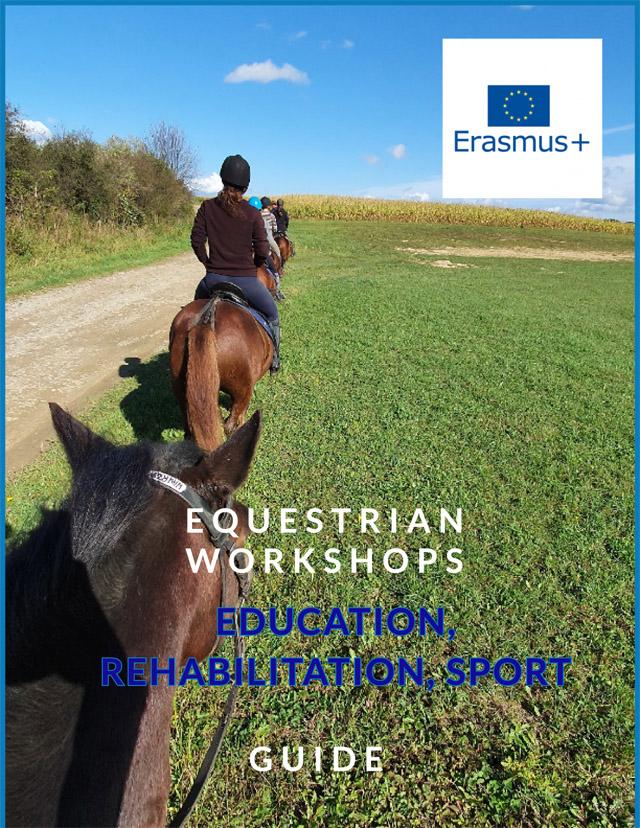 "English version ""Equestrian Workshops. Education, Rehabilitation, Sport"" Cuide"